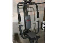 YORK fitness machine.