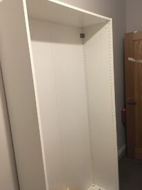 Pax wardrobe with doors