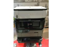 4 x Printers Spares or Repairs, + Canon & HP