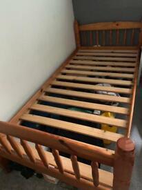 *single bed* Solid wooden bed frame