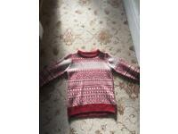Next boys Christmas jumper - age 6