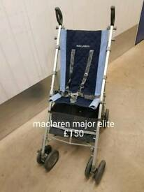 Maclaren major elite pushchair