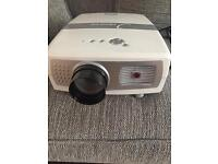 Led projector hd9000 with screen