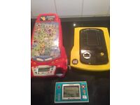 3 retro handheld games