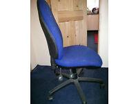 OFFICE CHAIR computer desk chair swivel BLUE