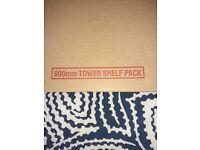 Howdens 600 larder shelves