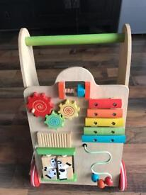 Lovely Wooden Baby Walker in Mint Condition