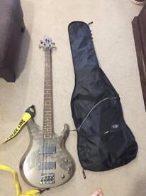Ibanez BTB limited edition bass guitar