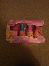 Brand New Disney Princess Bowling Set