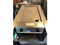 Commercial griddle catering restaurant hotels pubs equipment hot plate