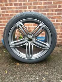 """Audi vw q7 q5 touareg tiguan 21"""" alloys alloy wheels"""