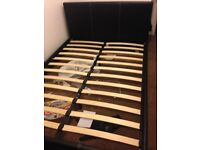 Double Bed Black