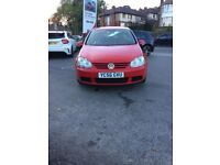 VOLKSWAGEN GOLF 2.0 2006 RED AUTOMATIC **LOW MILEAGE**EXCELLENT CAR**