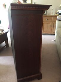Mahogany Sideboard, Stereo Unit and Coffee table