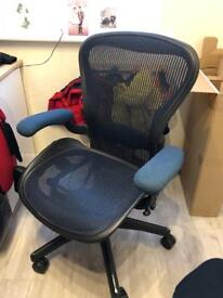 Herman Miller Chair in Blue OFFICE CHAIR