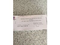 4x Dr Hook Tickets For Sale
