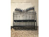 Metal Electric Gates - complete with rams and all electrics