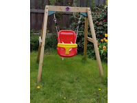 Plum Play Junior wooden swing - Excellent condition
