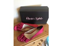 Phase eight satin heels