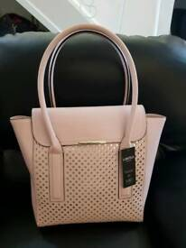 M&S pink handbag new with tag