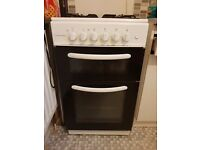 cookworks gas cooker *white
