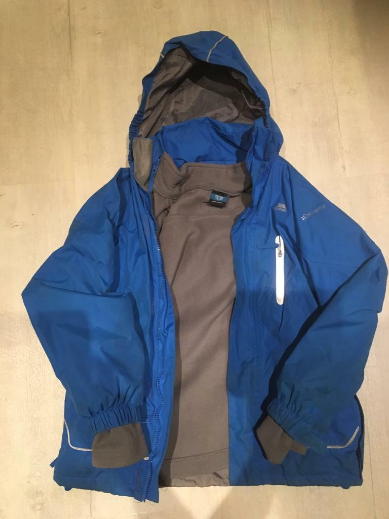 f9616fc8b Boys age 11-12 years trespass waterproof jacket