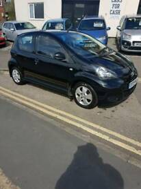 TOYOTA AYGO BLACK EDITION 09/09 ONLY 40,000 MILES FULL MOT