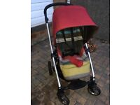 Mama and papa sola buggy system