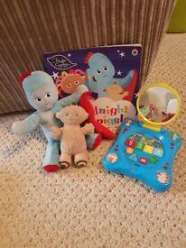 In the night garden toy bundle
