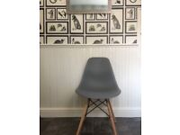 4 never been used retro dining chairs