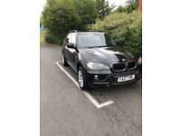Black BMW X5 7 seater 2007