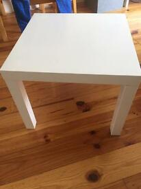 Lack little table &chest with drawers