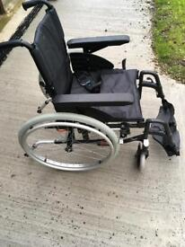 Invacare large wheels propel independence