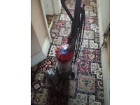 DYSON DC55 TOTAL CLEAN UPRIGHT/BAGLESS/RED/ENERGY CLASS A/EXCELLENT CONDITION NO OFFER