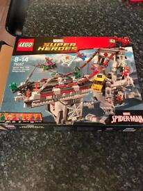 Marvel superheroes Lego set.