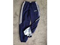 Adidas trousers 28 inch waist size 8 or small. Boy girl women's teenagers
