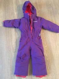 Mountain warehouse Ski suit girl/boy age 2-3