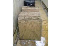 Paving slabs for sale - 18 total - 585mmx 585mm