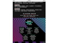 TRNSMT ticket - 6th July 2018 - Queen and Adam Lambert