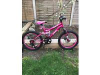 Girls bike 20inch wheel
