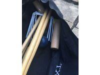 Wooden croquet set new