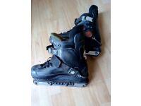 Bauer inline skates, size 11 for sale, £10.00
