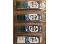 4x2 = 8GB Crucial CT25672AA80EA PC2-6400E DDR2 ECC Server RAM Memory