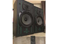 Wharfedale 75 watt handmade Delta 30 Stereo hifi Bookshelf Speakers Top Sound