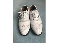 Men's Stuburt Waterproof Classic Spikeless Leather Golf Shoes