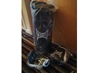 Brand new Jnr Punching bag and gloves
