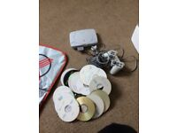 PlayStation 1 (lots of games and dance mat)