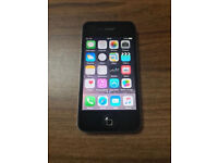 APPLE IPHONE 4S BLACK 16GB MOBILE(UNLOCKED)(GOOD CONDITION)