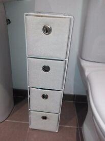 White organizer wilko 50-15-20 cm