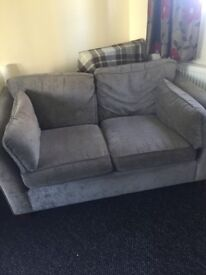 Grey 2 seater sofa perfect condition